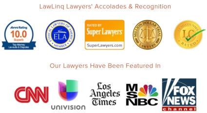 lawlinq recognizes Million Dollar Trial Lawyers™ awards