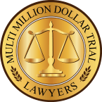 Multi-Million Dollar Trial Lawyers Badge