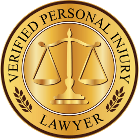 VERIFIED PERSONAL INJURY LAWYER seal